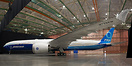 Boeing's first 777-9X during the roll out and unveiling ceremony at Bo...