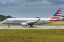 Brand new E170 for American Eagle (Envoy Air) on delivery flight, pass...