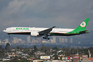 EVA Air aircraft on lease to Air New Zealand.