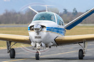 This Beechcraft Bonanza V35B has the serial number D-9128.