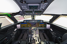 State of the art cockpit.