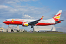 Lucky Air's latest B737-8 MAX landing at Everett for storage due to th...