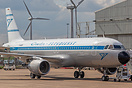 Fresh out of Airbourne Colours at East Midlands is this retro jet of T...