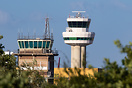 old control tower, back up tower