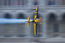The winner Steve Jones in action.  Red Bull Air Race World Series - Bu...