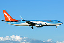 TUI aircraft returning from winter lease to Sunwing