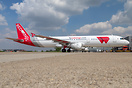New livery 'flyredwings' on this A321 - Paintjob by MAAS Aviation Maas...