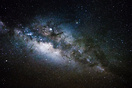 Picture of the Milky Way taken out of the flight deck while flying ern...