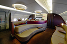 Qatar Airways A380 lounge
