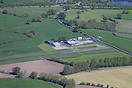 An aerial view of Welshpool Airport
