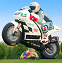 This Lindstrand LBL-Motorbike balloon is believed to be the biggest ho...