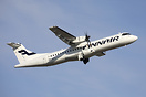 First ATR72-500 repainted into full colors of Finnair. Gradually all A...