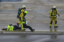 Full-scale exercise to test certain aspects of Liege Airport's Emergen...