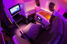 Royal Silk class seat 11J with mood light