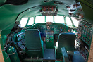 Built in 1958 this refurbished Lockheed L-1649A Starliner is the centr...