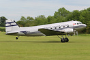 This DC-3 visited the UK for the D-Day 75th anniversary commemoration.