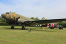 This C-47 was visiting the UK for the D-Day 75th anniversary commemora...
