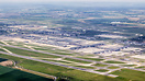 Overview of the whole of CDG, with all 4 runways and several terminal ...