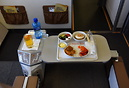 Business Class Meal enroute VFA to JNB