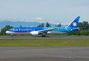 Air Tahiti Nui's latest Boeing 787 dreamliner leaving for Paris Le Bou...