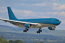 Ex-Vietnam Airlines Airbus A330 arriving at Manchester for painting by...