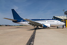 Former Air Baltic has been painted by MAAS Aviation Services Maastrich...