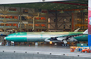 Boeing's third testbed for the brand new airplane 777-9X that might en...