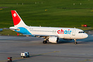 former Germania Switzerland, now called CHair Airlines