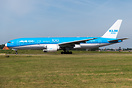 The first KLM Asia jet to carry the 100 sticker and the first KLM B772...
