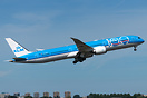 The first KLM B787-10 carrying the 100th anniversary sticker