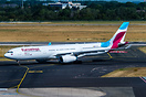 the newest Airbus A330 for Eurowings operated by Brussels Airlines