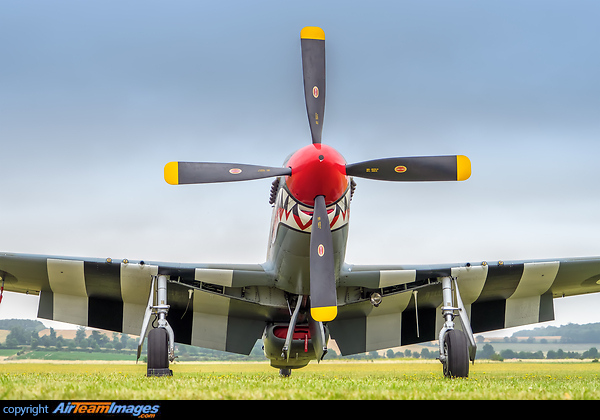 North American P-51D Mustang (G-SHWN) Aircraft Pictures
