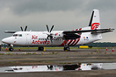 Delivery of the first Fokker 50 for Air Antwerp