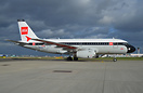 British Airways A319 sporting the BEA colour scheme , as part of the a...