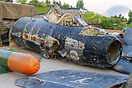 This MiG-17 which should have been grounded for a long time, were base...