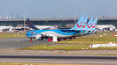 TUI B737-8MAX fleet grounded at Brussels Airport.