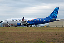 "The latest addition of Embraer has a special colorful livery ""Honoring..."
