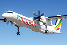 Ethiopians latest Q400 arriving at Manchester for fuel while en-route ...