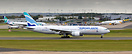 Euro Atlantic Airways B777-200 CS-TFM and Evelop A330-300 EC-LXA are t...
