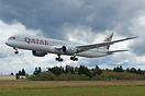 Qatar Airways' first Boeing 787-9 Dreamliner