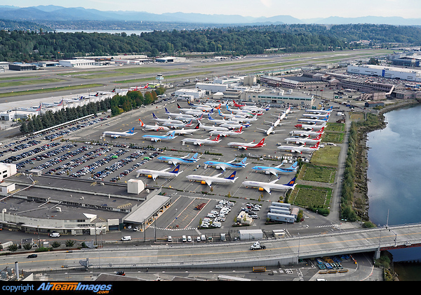Boeing Field Aircraft Storage