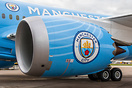 First commercial service to Manchester in the new Manchester City Live...