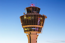 Iconic Tower at Munich Airport