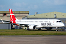 Ex-Stobart Air Embraer 195 EI-GGB has recently been painted into Great...