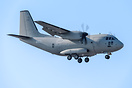First of The Three C-27J Spartan - Tactical Military Transport Aircraf...
