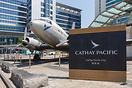 Cathay Pacific City at Hong Kong Airport