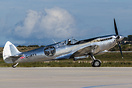 The Silver Spitfire making at stop in Athens while on its tour around ...