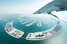 Flying over the Palm, Dubai