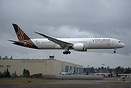 Vistara's first Boeing 787-9 Dreamliner
