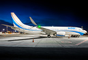 This Enter Air Boeing 737-MAX 8 was ferried from Warsaw to Tel Aviv fo...